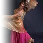 Belly Dancing at Chequer Mead, East Grinstead
