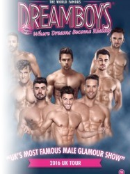 The Dreamboys at Chequer Mead, East Grinstead