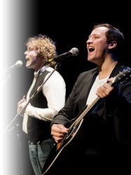 The Simon and Garfunkel Story at Chequer Mead, East Grinstead