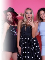 Black Magic - The Little Mix Show at Chequer Mead, East Grinstead