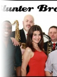 The Blunter Brothers at Chequer Mead, East Grinstead