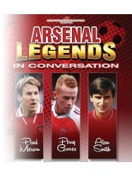 An Evening with Arsenal Legends at Chequer Mead, East Grinstead