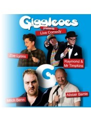 Giggleloes Comedy at Chequer Mead, East Grinstead