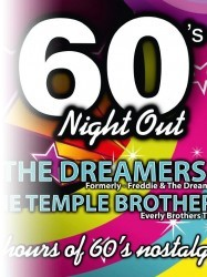 60s Night Out at Chequer Mead, East Grinstead