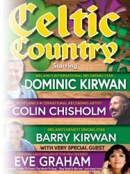 Celtic Country, featuring Dominic Kirwan at Chequer Mead, East Grinstead