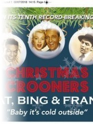 Christmas Crooners at Chequer Mead, East Grinstead