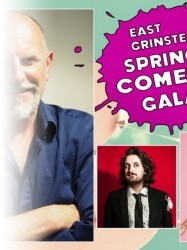 East Grinstead Spring Comedy Gala at Chequer Mead, East Grinstead